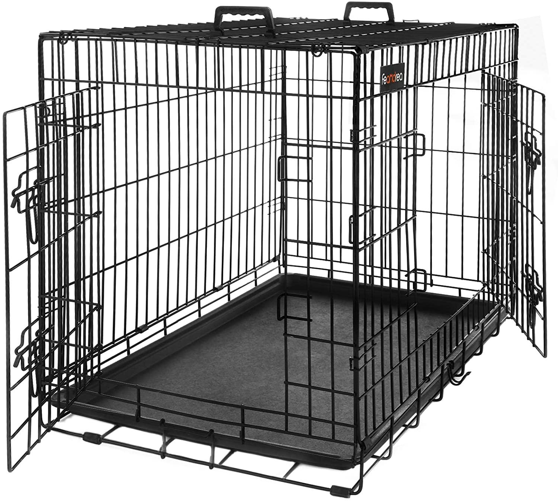 #3 FEANDREA-Transportín para Perros Grandes Metálico