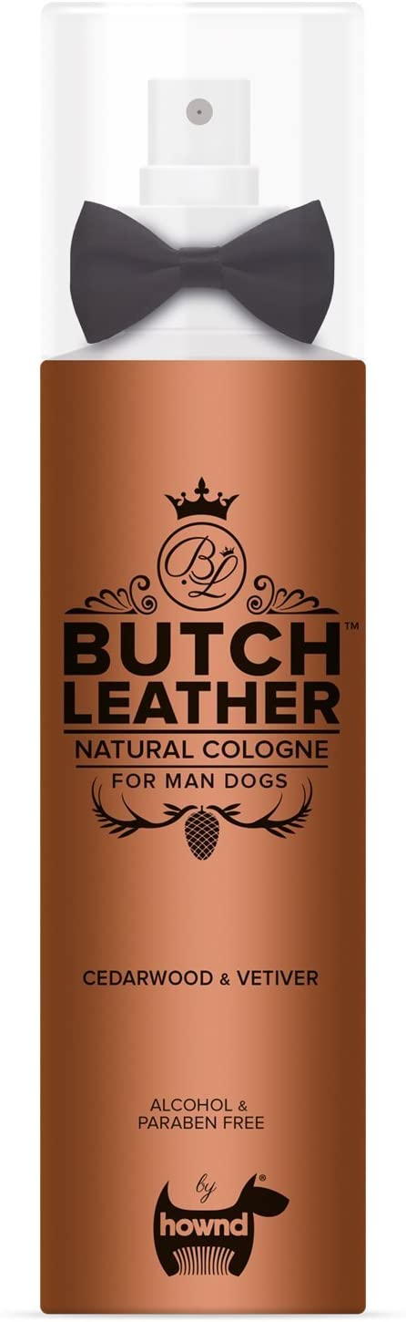 #4 Hownd Colonia para Perros Butch Leather