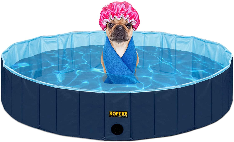 #4 - KOPEKS piscina extra grande ideal para perros