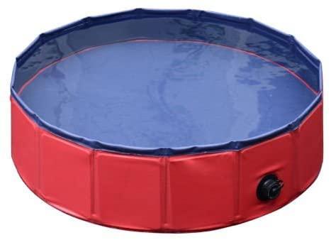 #7 - Pawhut piscina para perros plegable