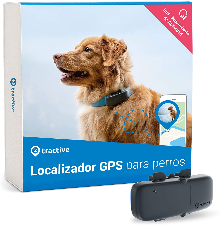 #2 - Tractive TRDOG1 localizador GPS para perros resistente al agua