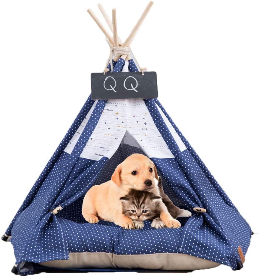 Arkmiido - Cama Para Perros Tipo Tienda