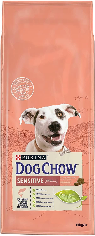 Purina Dog Chow Sensitive – Pienso de Salmón para Perros Orgánico